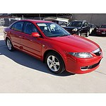 7/2006 Mazda Mazda6 Classic GG  4d Sedan Red 2.3L
