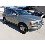 5/2007 Volvo XC90 D5 MY07 4d Wagon Grey 2.4L