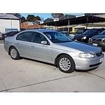 10/2003 Ford Fairmont  BA 4d Sedan Silver 4.0L