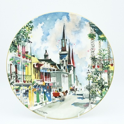 Limited Addition Royal Doulton French Quarter After Dong Kingman 1976