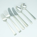 Georg Jensen Sterling Silver Six Piece Flatware Setting for One