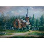VANDER, John (b.1947) 'St John the Baptist Church, Canberra'