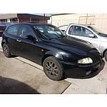 5/2002 Alfa Romeo 147 2.0 TWIN Spark  5d Hatchback Black 2.0L