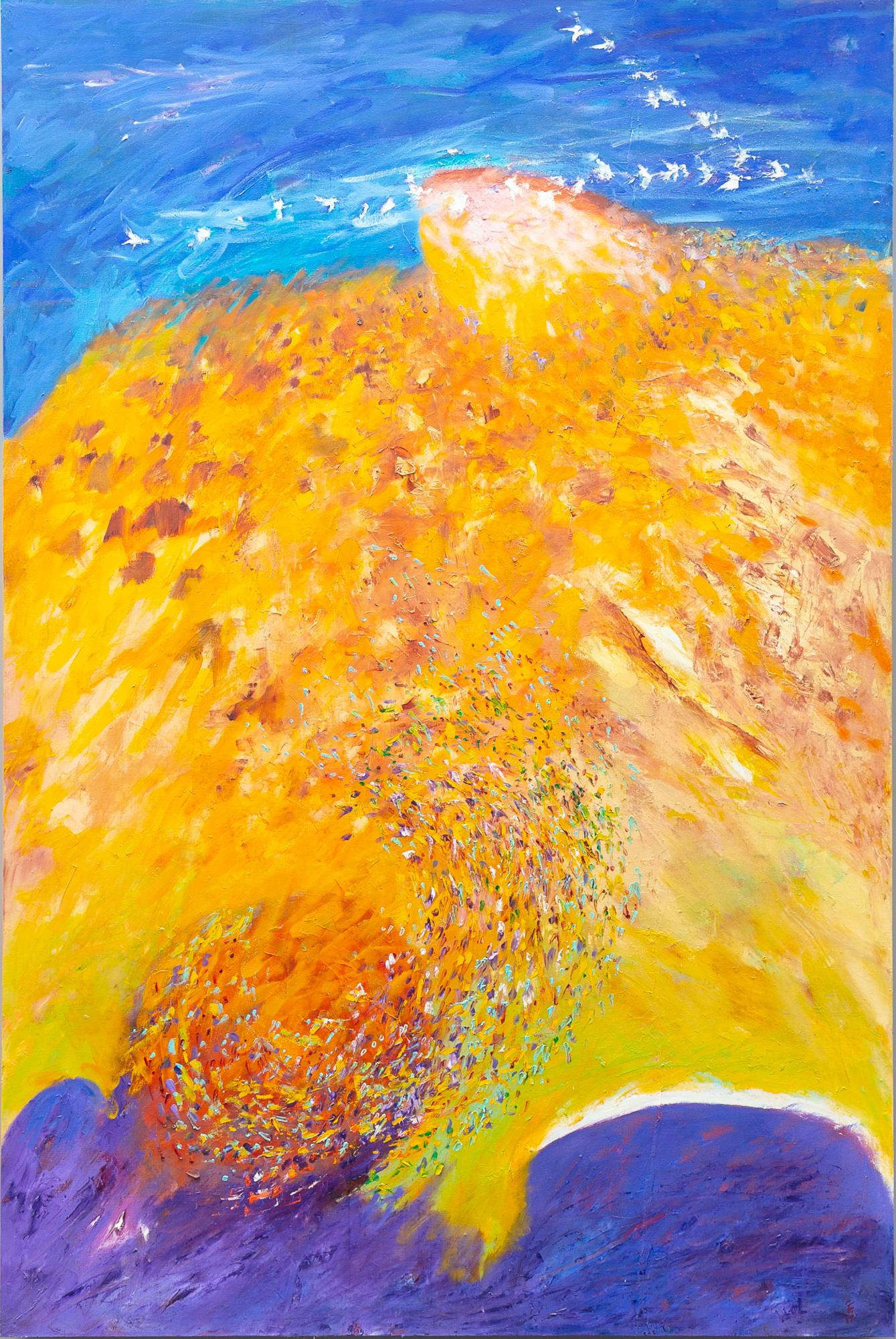 'Frank Hodgkinson (1919-2001) Four Seasons - Autumn 1993, Oil on Linen Board '