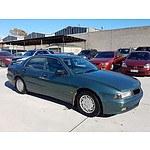 4/1997 Mitsubishi Magna Executive TE 4d Sedan Green 2.4L