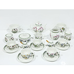 Portmeirion Tea Service for Six, Including Teapot, Creamer Jug, Sugar Bowl and More