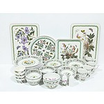 Extensive Portmeirion Dinner Service for Six with Extras