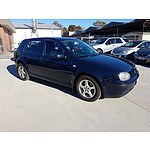 4/2002 Volkswagen Golf 2.0  5d Hatchback Blue 2.0L