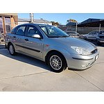 8/2003 Ford Focus LX LR 4d Sedan Silver 2.0L