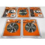 Lot of 5 Brand New DualSaw Stone Cut Diamond Blades CS450  - RRP= $250.00