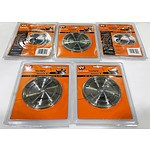 Lot of 5 Brand New DualSaw Stone Cut Diamond Blades CS450  - RRP= $250.00