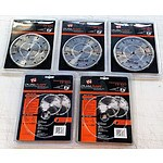 Lot of 5 Brand New DualSaw Stone Cut Diamond Blades CS650 - RRP= $350.00