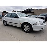 4/2000 Ford Falcon Forte AUII 4d Sedan White 4.0L