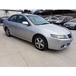 11/2003 Honda Accord EURO  4d Sedan Silver 2.4L