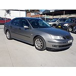 6/2003 Saab 9-3 ARC 2.0T MY03 4d Sedan Grey 2.0L