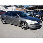 5/2003 Saab 9-3 ARC 2.0T MY03 4d Sedan Grey 2.0L