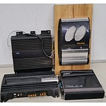 Motor Vehicle Audio Amplifiers - Lot of Four