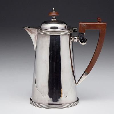 Fattorini & Sons Bradford Rembrandt Plate Coffee Pot