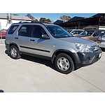 12/2005 Honda Crv (4x4) 2005 UPGRADE 4d Wagon  2.4L