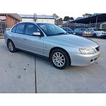 7/2003 Holden Commodore Equipe VY 4d Sedan Silver 3.8L