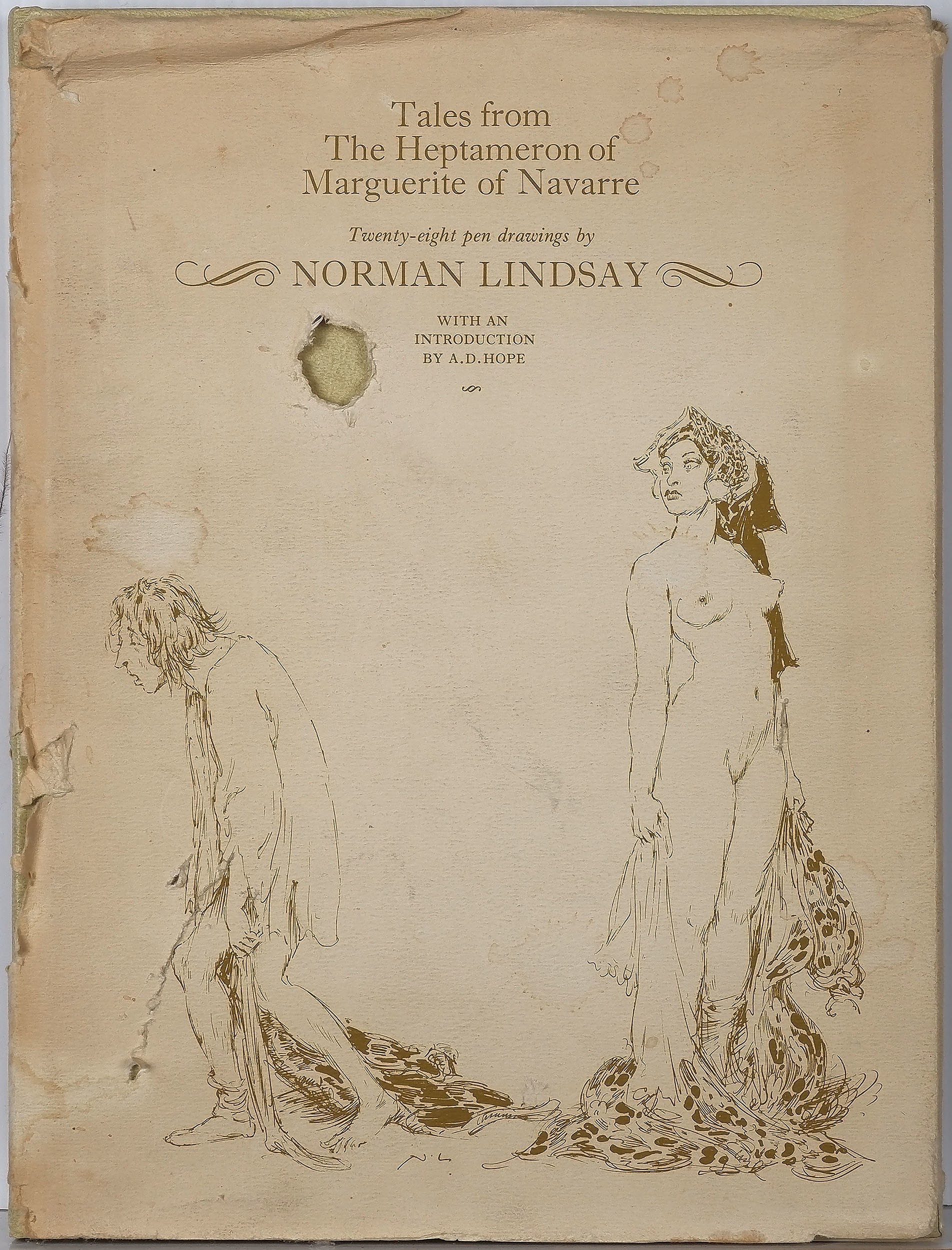 'Norman Lindsay (1879-1969) Tales from the Heptameron of Marguerite of Navarre'