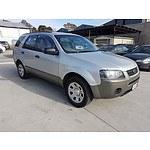 7/2008 Ford Territory TX (rwd) SY 4d Wagon Silver 4.0L