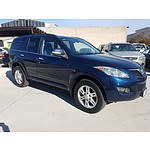11/2012 Great Wall X200 (4x4) 4d Wagon Blue 2.0L