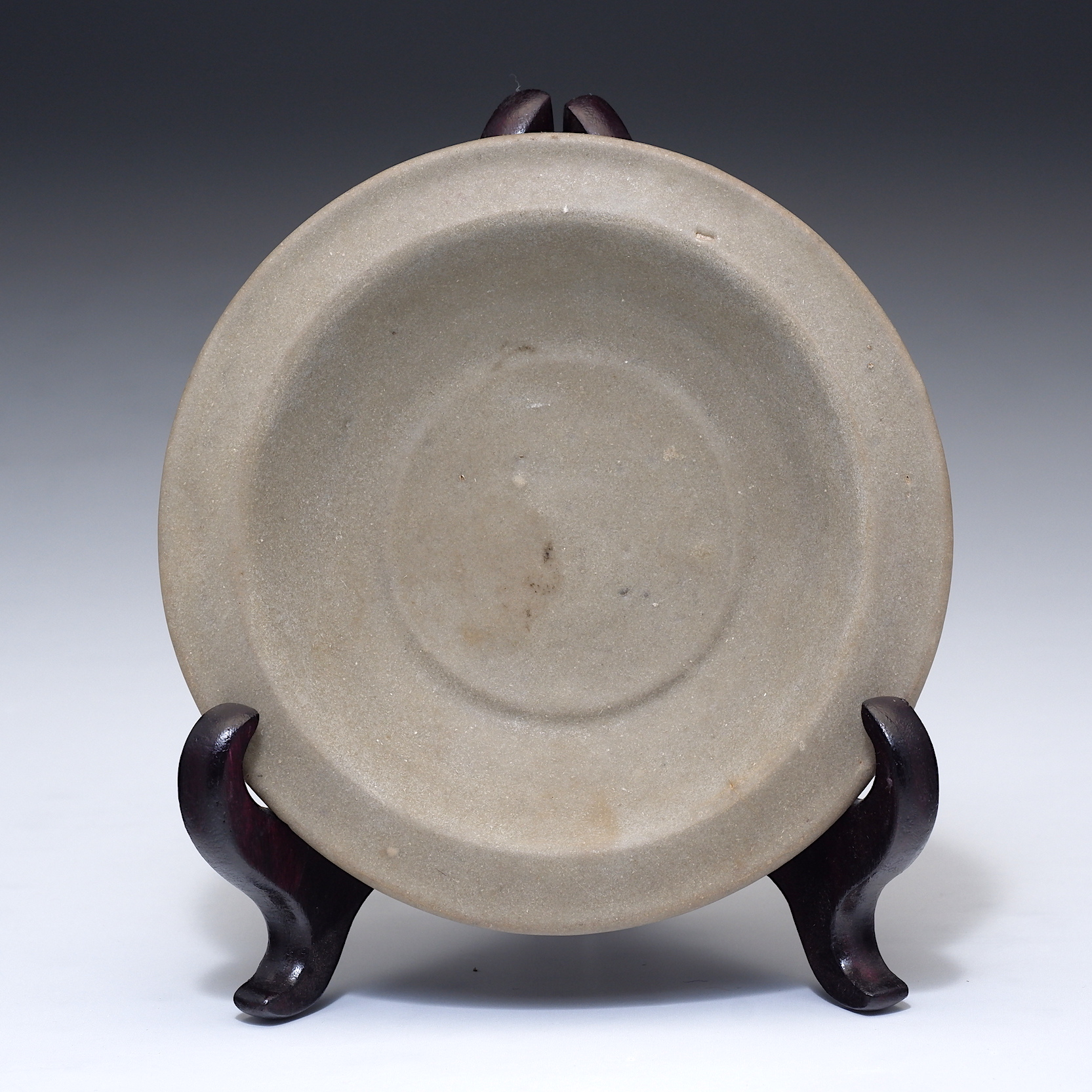 'Chinese Celadon Dish Probably Lonquan Kilns, Yuan to Ming Dynasty'