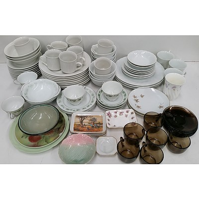 Selection of China Tableware and Serving Ware