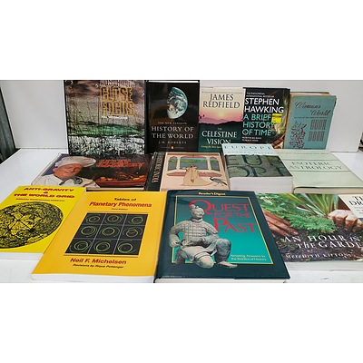 Astrology, Spritual, History, Language, Maths, Cooking, Garden, Biography and Reference Books - Lot of 200+