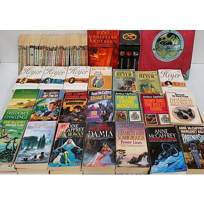 Fiction, Non Fiction Novels and Short Stories - Lot of 480