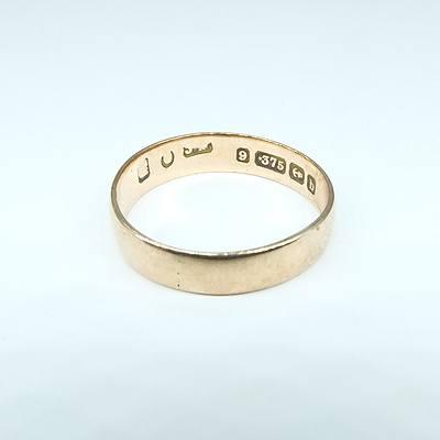 9ct Rose Gold Wedding Ring