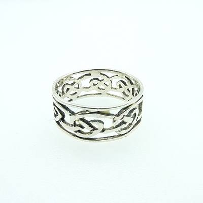 Sterling Silver Infinity Band
