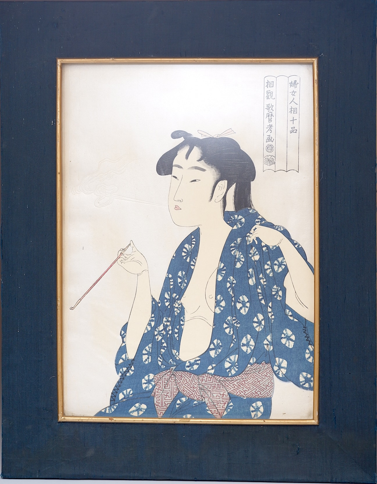 'Kitagawa Utamaro (Japanese 1753-1806) Woodblock, 20th Century Edition'