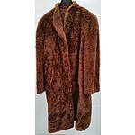 Cow Hide 3/4 Length Ladies Coat(circa 1900)