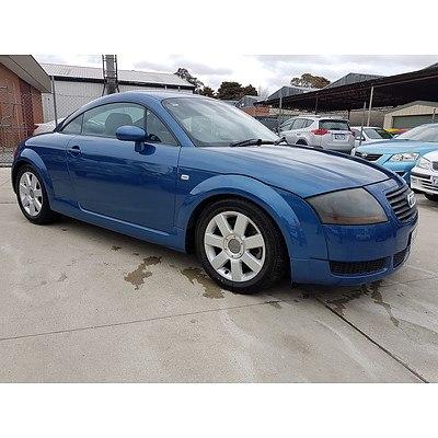 9/1999 Audi TT  MY99 2d Coupe Blue 1.8L
