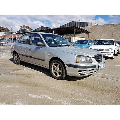1/2005 Hyundai Elantra 2.0 HVT XD 4d Sedan Silver 2.0L