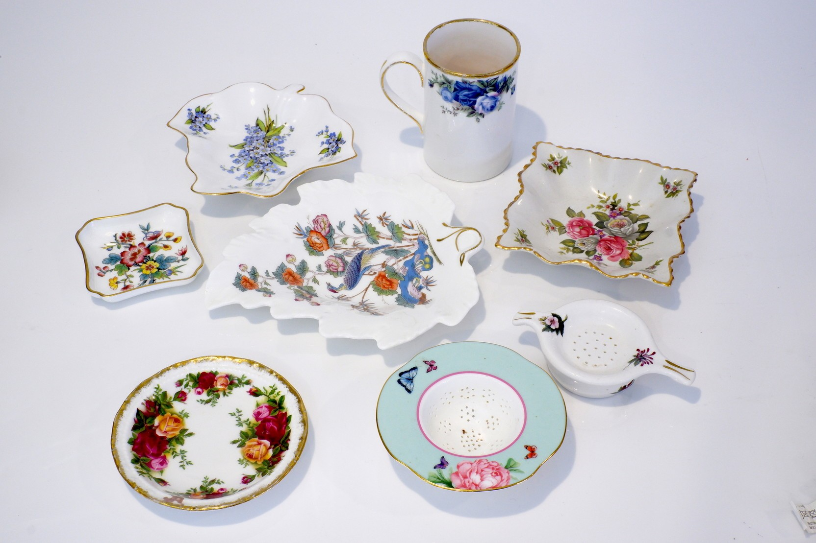 'Group of Various English Porcelain, Including Wedgwood, Royal Doulton, Royal Albert etc'