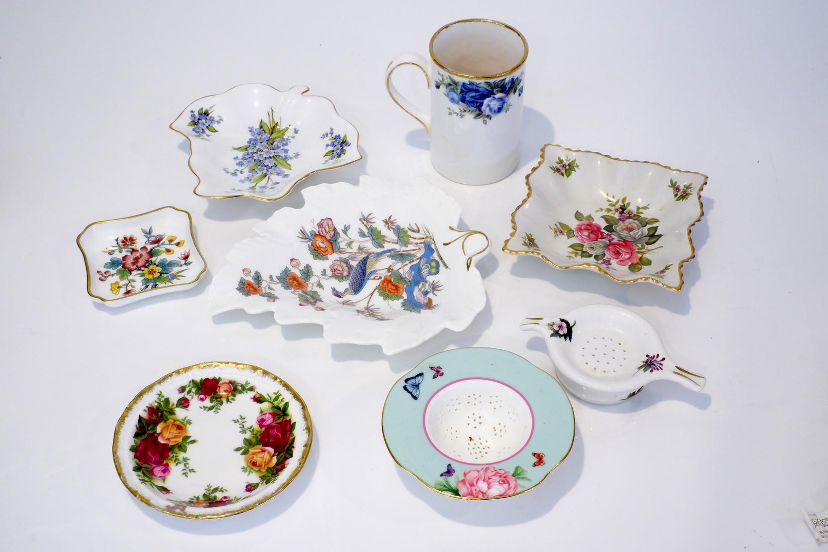 'Group of Various English Porcelain, Including Wedgwood, Royal Doulton, Royal Albert etc'
