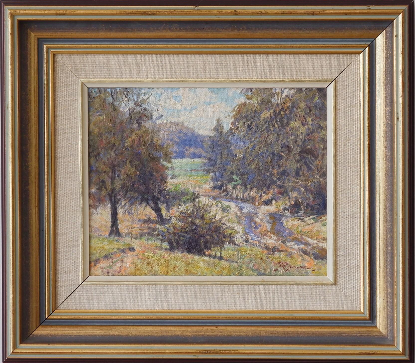 'Reginald George Rowe (1916-2010) Bunkers Creek Near Kangaroo Valley'