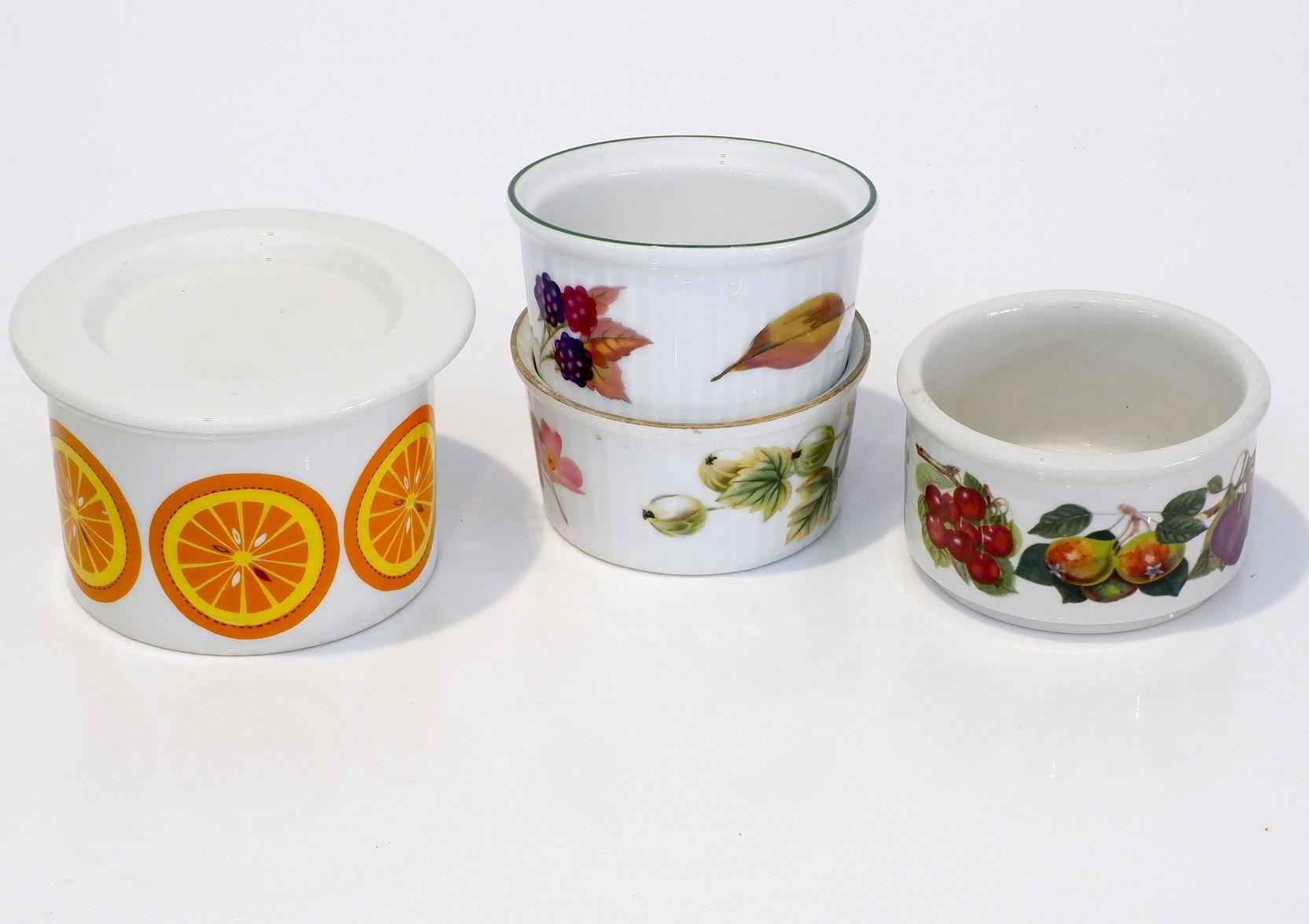 'Royal Worcester, Portmeirion and Arabia Porcelain Crucibles'
