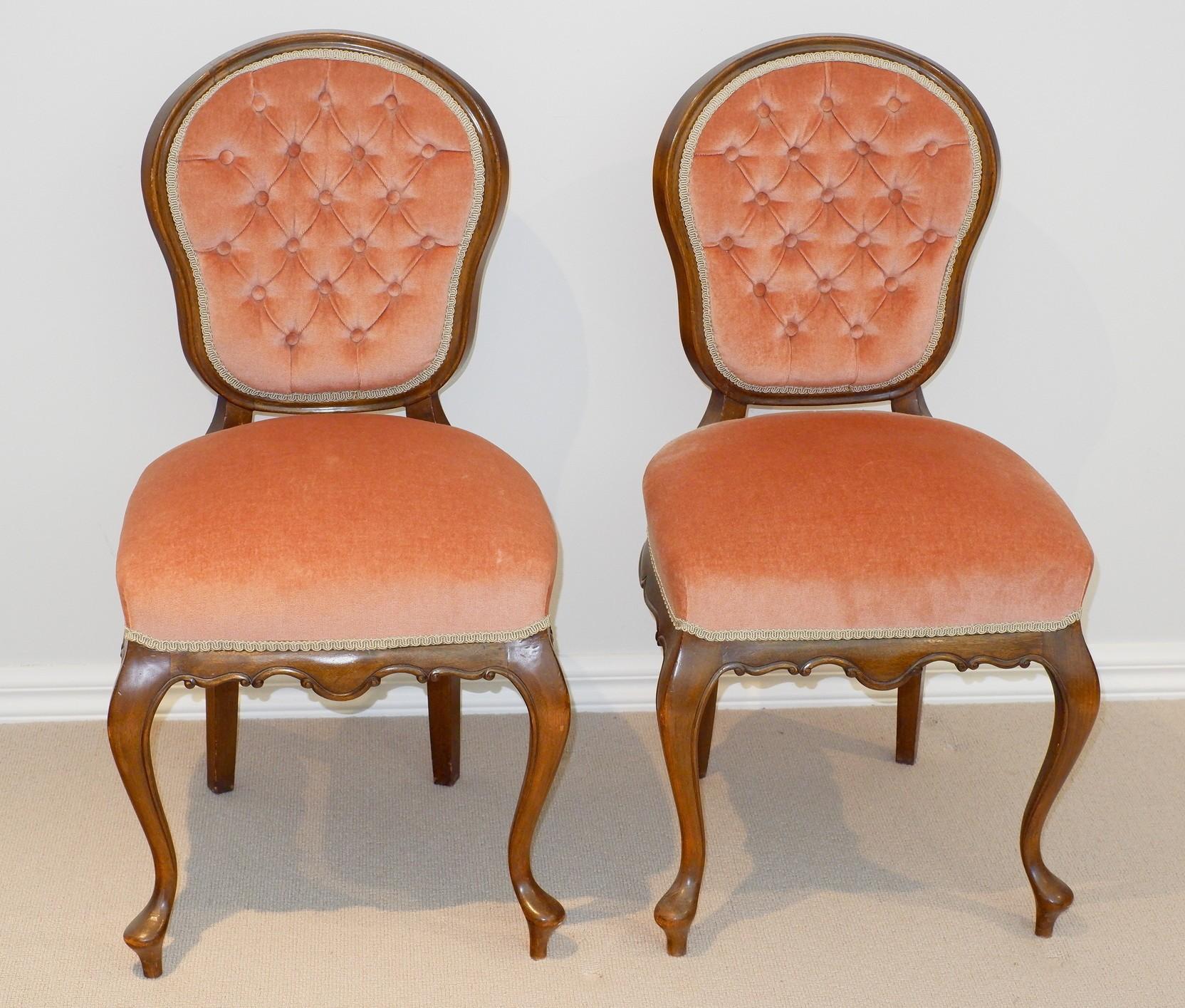 'Louis Style Salon Chairs'