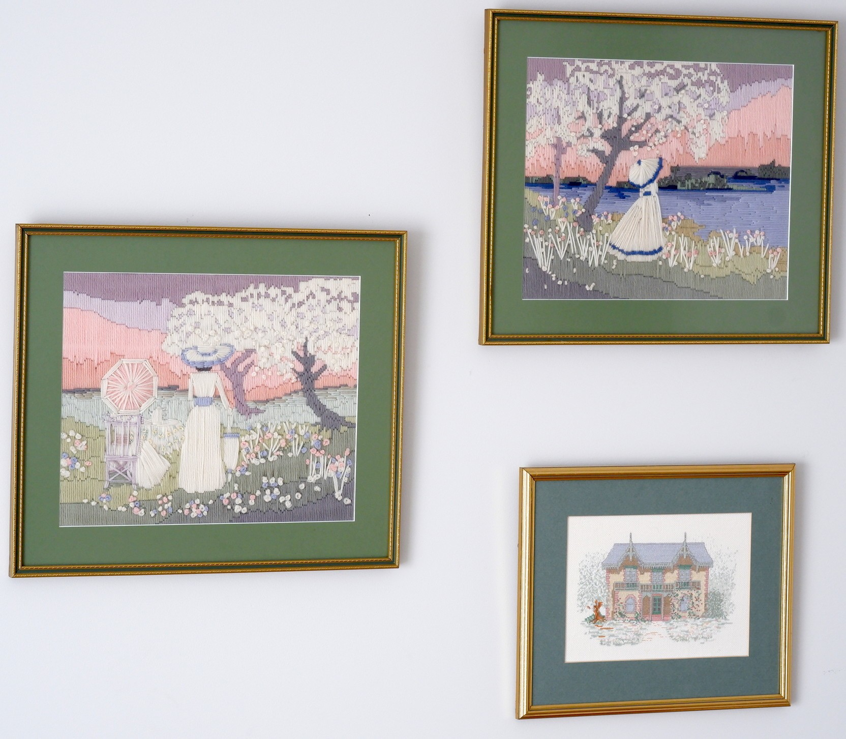 'Three Framed Tapestries'