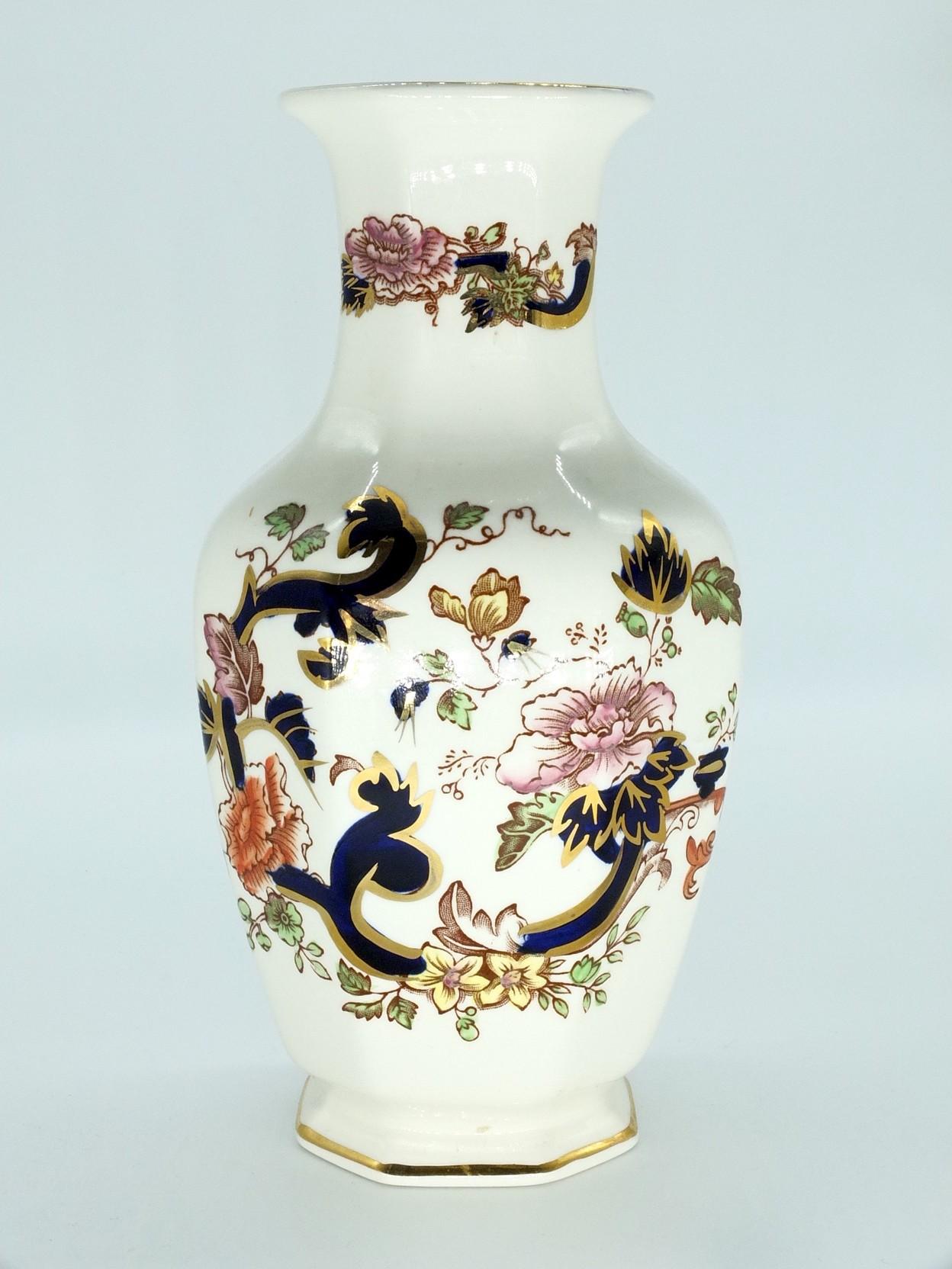 'Antique Masons Mandalay Ironstone Vase'
