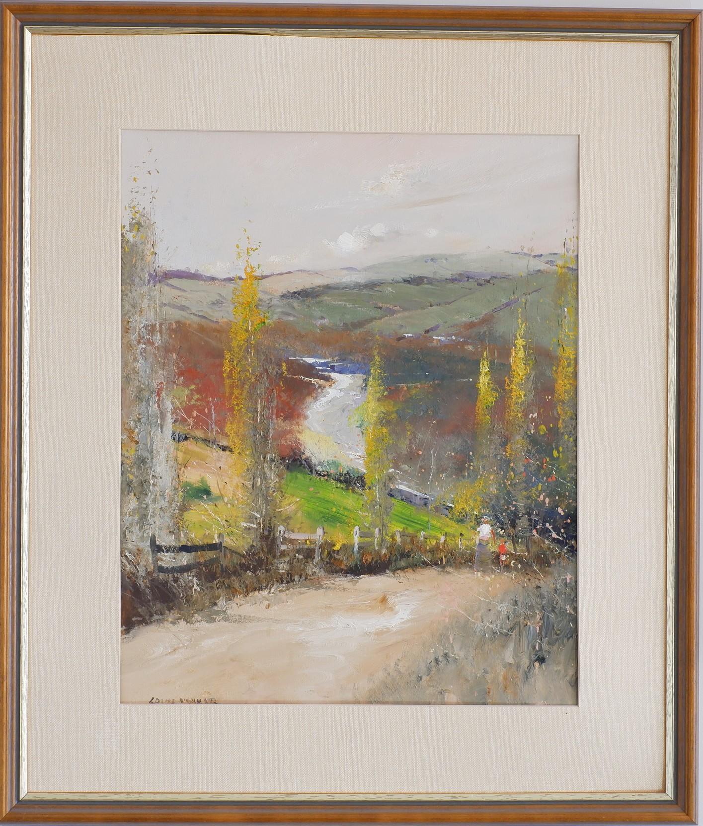 'Colin Parker (1941-) Untitled Oil on Board'
