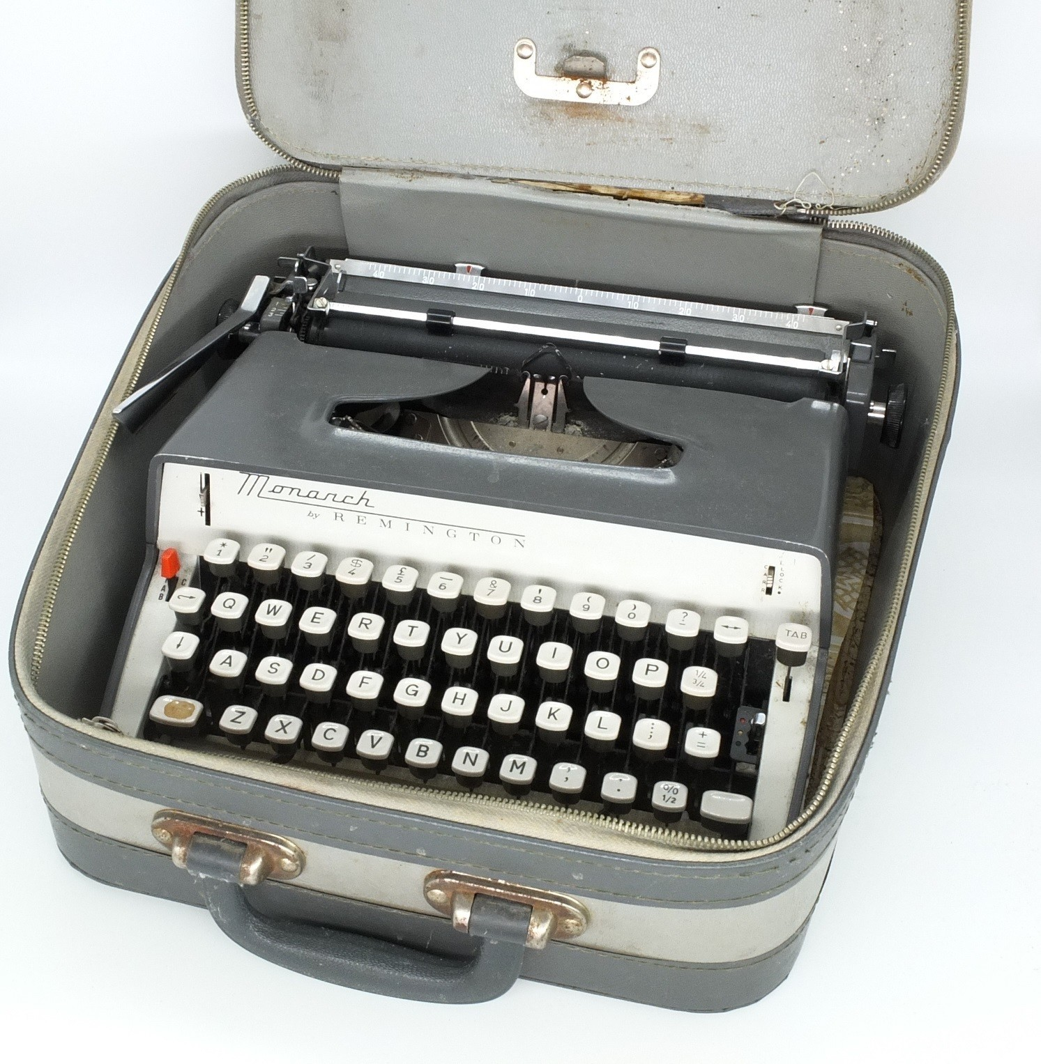 'Remington Monarch Typewriter and Two Others'