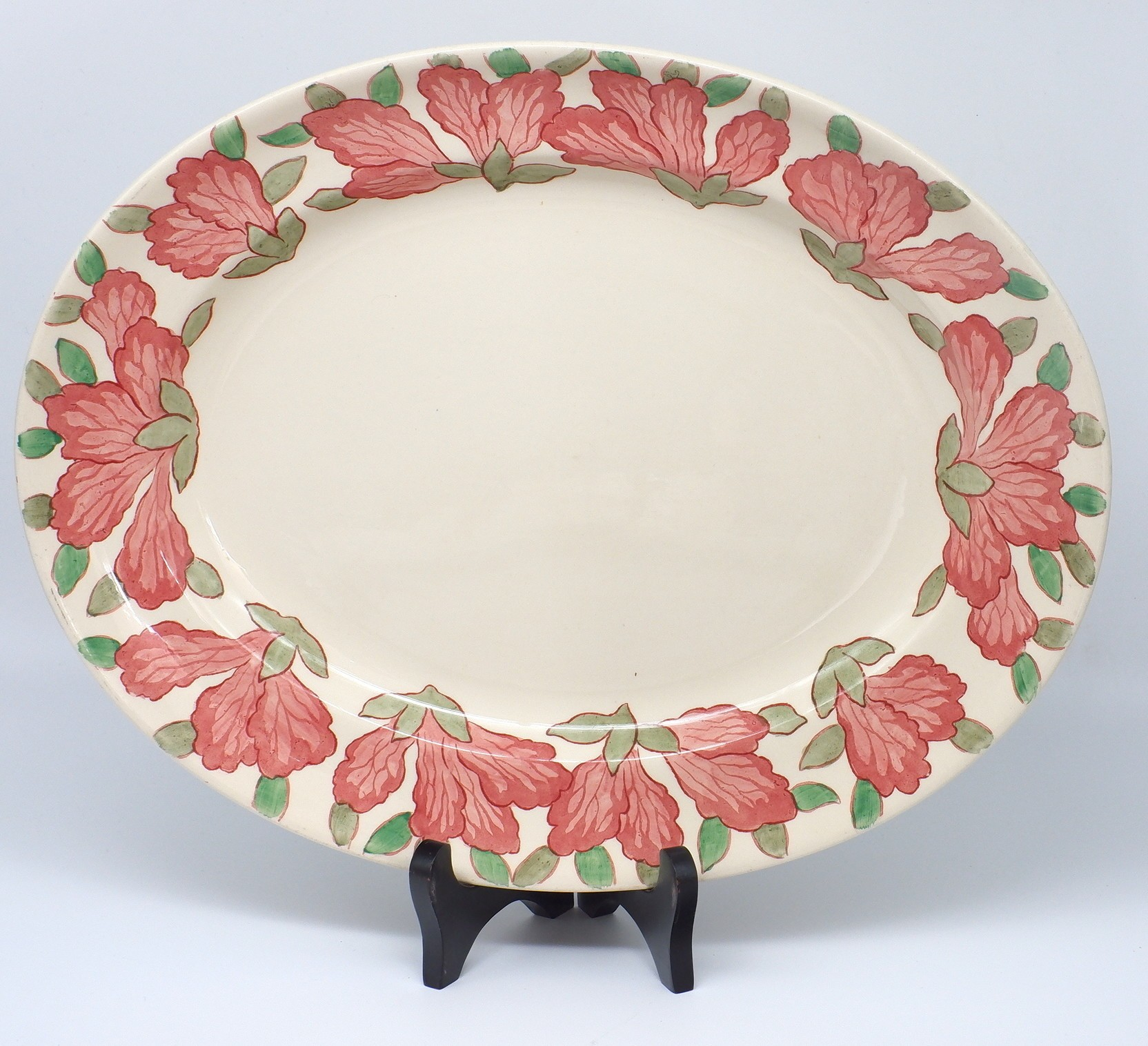 'Royal Doulton Azalea Pattern Serving Dish'