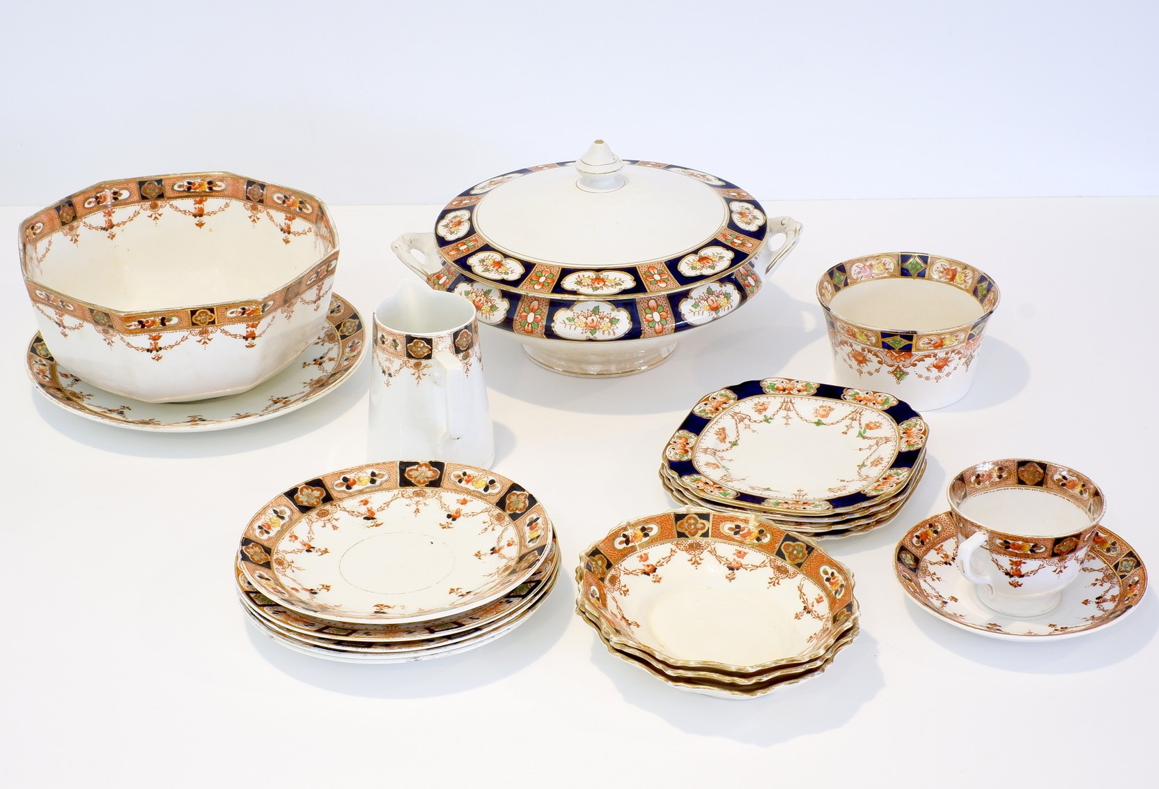 'Group of Various Phoenix Ware and Royal Stafford China in a Similar Pattern'
