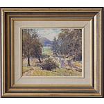 Reginald George Rowe (1916-2010) Bunkers Creek Near Kangaroo Valley