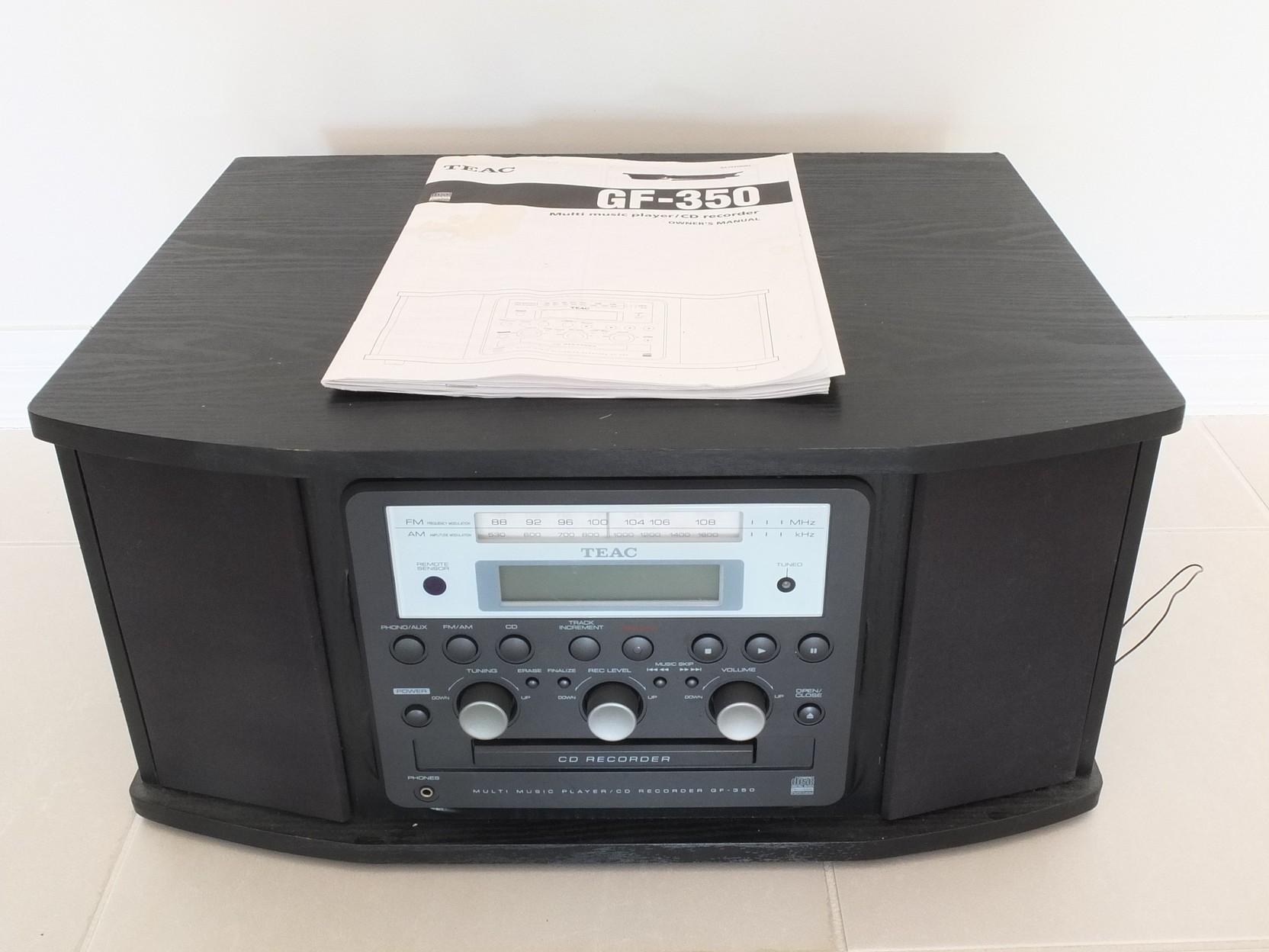 'TEAC GF-350 Multi Music Player / CD Recorder'